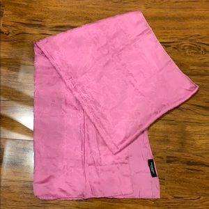 YSL women's scarf. Pink